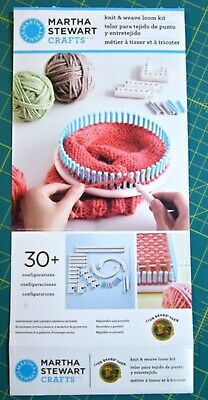 Clearance - Martha Stewart Knit And Weave Kit RRP $50