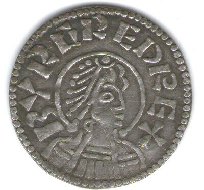 (61) King of Mercia Burgred (852-874), Late phase Penny Sp.941 Souvenir