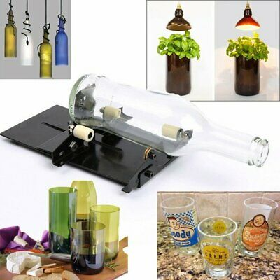 Pro Glass Bottle Cutter Kit DIY Tool Machine Cutting Wine Beer Arts Craft Decor