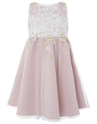 Monsoon Girls Sakura Blossom Dress Size / Age 6 Years