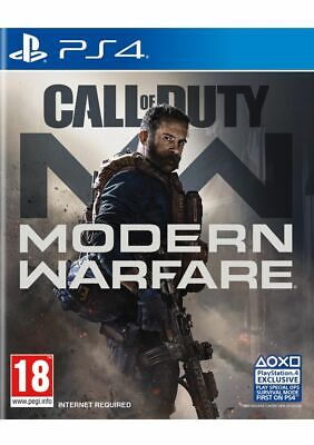 Call of Duty: Modern Warfare (PS4) Free UK P&P Brand New & Sealed UK PAL
