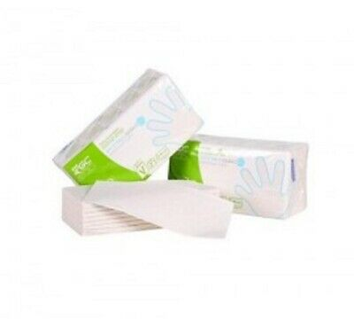 ESSUIES MAINS BOBINE D'ESSUYAGE BLANC OUATE FEUILLE A FEUILLE 20 x 23