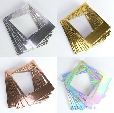 Dovecraft Snapshot-Style Photo Frames For Scrabooking Cardmaking - Pack of 10
