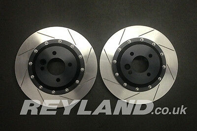 BMW Mini 330mm 2 piece disc kit for replacement of discs fitted to R56 JCW GP2
