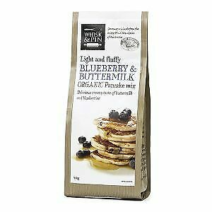 Whisk & Pin Organic Blueberry & Buttermilk Pancake Mix 400g Carton (6 units)