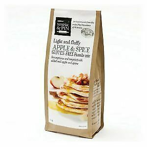 Whisk & Pin Apple & Spice Pancake Mix 400g Carton (6 units) | Gluten Free