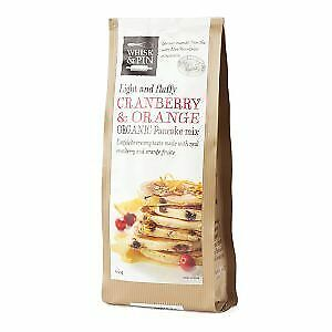 Whisk & Pin Organic Cranberry & Orange Pancake Mix 400g Carton (6 units)