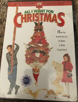 NEW All I Want For Christmas DVD Widescreen