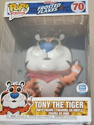 """Funko POP Shop  Exclusive Frosted Flakes Tony The Tiger 10"""" MINT CONDITION!"""