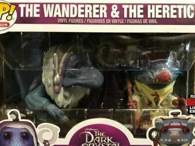 FUNKO POP DARK CRYSTAL WANDERER & HECTIC - NYCC 2019 SHARED EXCLUSIVE - In Stock