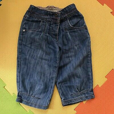 Sale!!  Next 3-4 years 104cm Girls Denim Long Shorts Kids Clothes Outfit