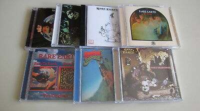 Rare Earth 7CD Set Dreams Answers Get Ready Ecology One World Willie Ma..