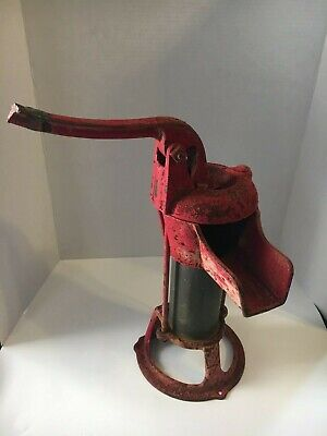Vintage Columbiana Cast Iron Hand Well Water Pump Model 2083 Unrestored