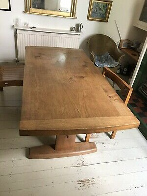 Outstanding Quality Handmade Solid Oak Dining Table