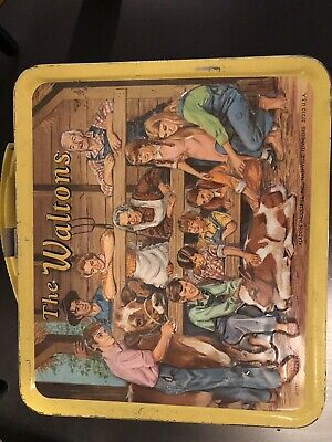 The Waltons - vintage metal lunchbox