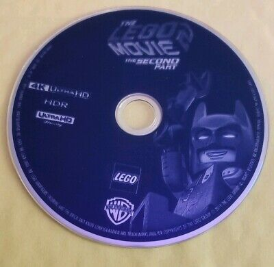 The Lego Movie The Second Part 4K Disc Only