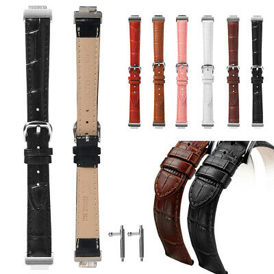 Solft Leather Buckle Strap Band For Fitbit Inspire/Inspire HR Large Women Men