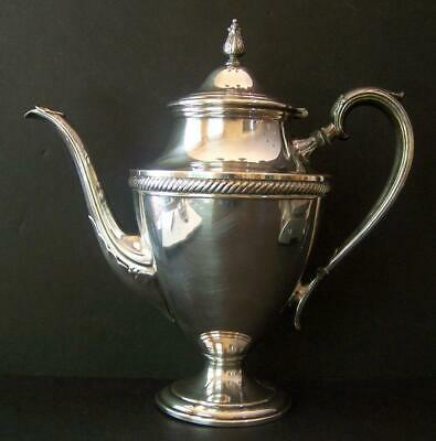 Castleton International Silver Plate Coffee Pot 802