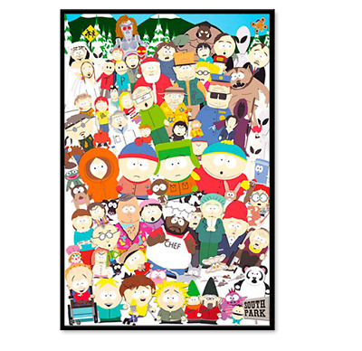 SOUTH PARK - CHARACTER COLLAGE POSTER 24x36 - FP2435