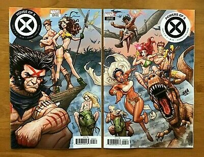 House of X 5, Powers of X 5  David Nakayama Connecting Variant Covers Marvel NM