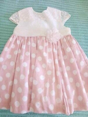 DOLCE PETIT Summer Occasion Spanish Designer Party  Girls linned  Age 4/5 Years