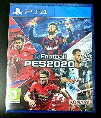 eFootball Pro Evolution Soccer PES 2020 PS4 MULTILANGUAGE ( read description )