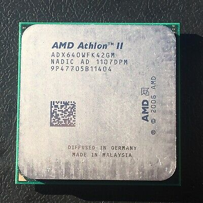 AMD Athlon II X4 640 Socket AM3 Procesador Quad-Core ADX640WFK42GM