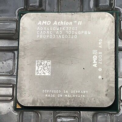 AMD Athlon II X3 440 Socket AM3 Procesador AD Quad-Core Base ADX440WFK32GI