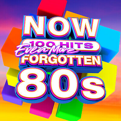 Now 100 Hits Even More Forgotten 80S 5-Cd New Mint Pre-Order 15.11.2019