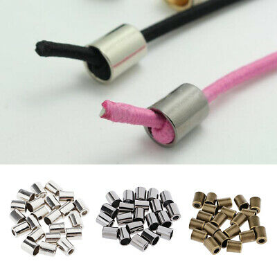 20Pcs Alloy Bell Cord Rope Locks Fastener Ends Stopper for Backpack Clothing