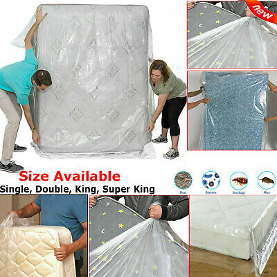 Bed Fitted Mattress Protector Cover Waterproof Single Double King Size Sheet UK