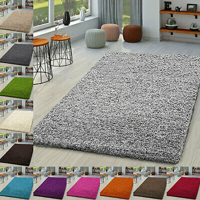 Thick Shaggy Large Rugs Living Room Carpet Washable Mats Anti-Skid Rug & Runner