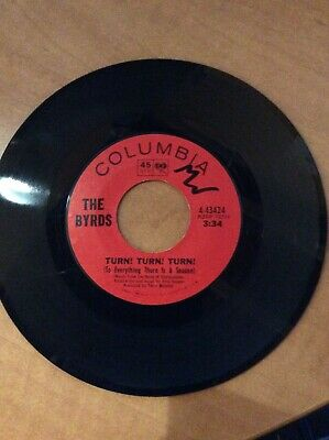 The Byrds -  Turn! Turn! Turn! / She Don't Care About Time USA 45