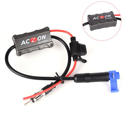 Universal Automobile Car FM/AM Radio Stereo Antenna Signal Amplifier Booster YGZ