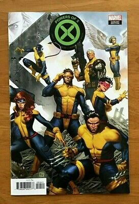Powers of X # 4 2019 Jorge Molina Connecting Cover Variant Marvel Comics NM+