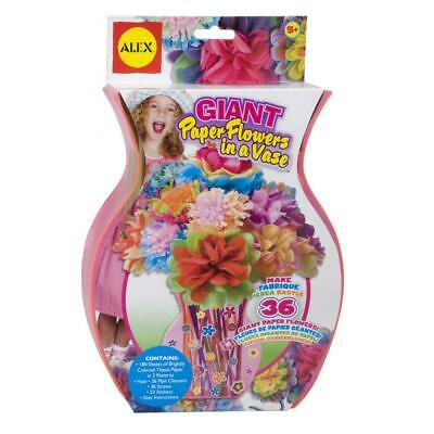 Alex Toys Giant Paper Flowers In A Vase.brand New.free Shipping