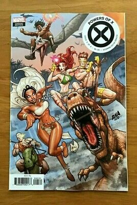 Powers of X # 5 2019  David Nakayama Connecting Cover Variant Marvel Comics NM