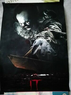 It Poster Movie White Coated Paper