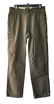 NWT Pick Size and Color GH BASS /& Co Mens Canvas Terrain Stretch Pants Outdoor