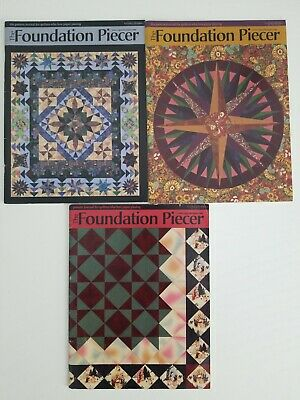 The Foundation Piecer Quilt Magazine Patterns Zippy Designs