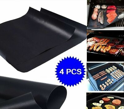 1PC BBQ GRILL MAT BAKE NON STICK GRILLING MATS BARBECUE PADS REUSABLE FADDISH