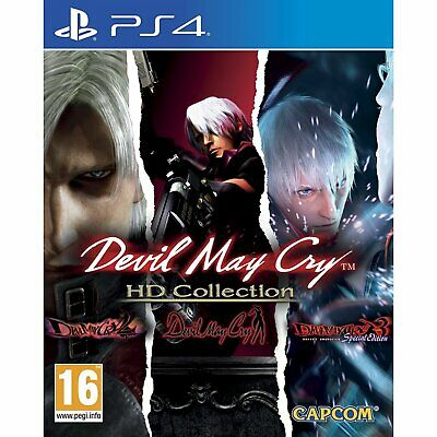 Ps4 Devil May Cry Hd Collection Uk English New Sealed
