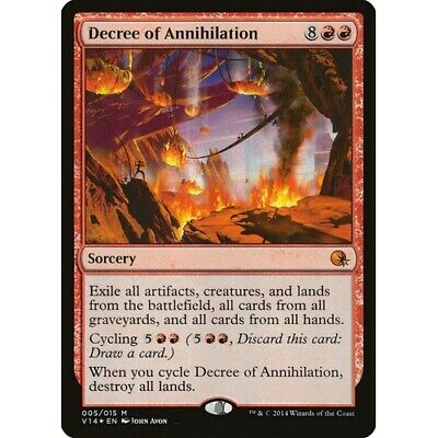 Virtue/'s Ruin FOIL From the Vault Annihilation PLD-SP Mythic Rare CARD ABUGames