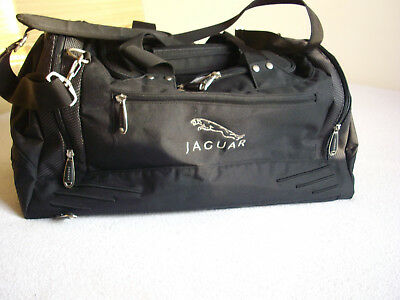 JAGUAR Travel Bag Black