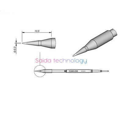 JBC soldering iron head C245-030 for repairing integrated circuit chips