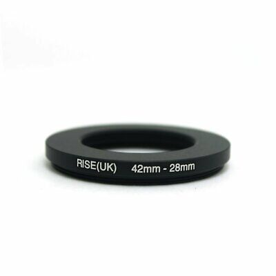 42-28 42mm to 28mm 42-28mm Matel Step-down Stepping Down Ring Filter Adapter