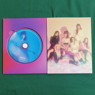 [Pre-Owned/No Photocard] Mia CD ver Everglow Debut Album Arrival of Everglow