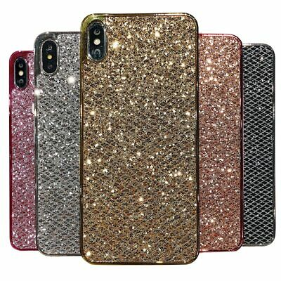 Silicone Bling Glitter Soft Case Cover for Huawei P9 P10 P20 Plus P Smart 2019