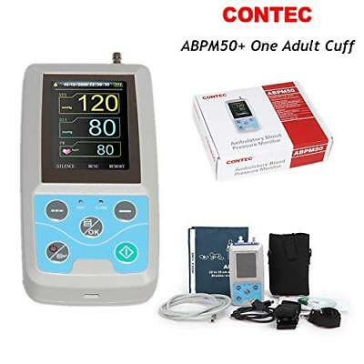 CONTEC Ambulatory Blood Pressure Monitor+Software 24h NIBP Holter Adult Cuff,USA