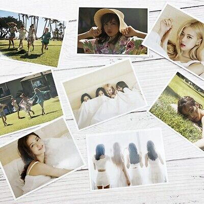 8 Pcs BLACKPINK'S 2019 SUMMER DIARY IN HAWAII Photocards Poster Lomo Cards